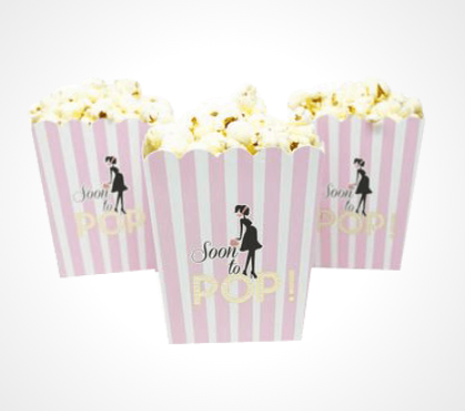 Get 40% Discount on custom popcorn boxes