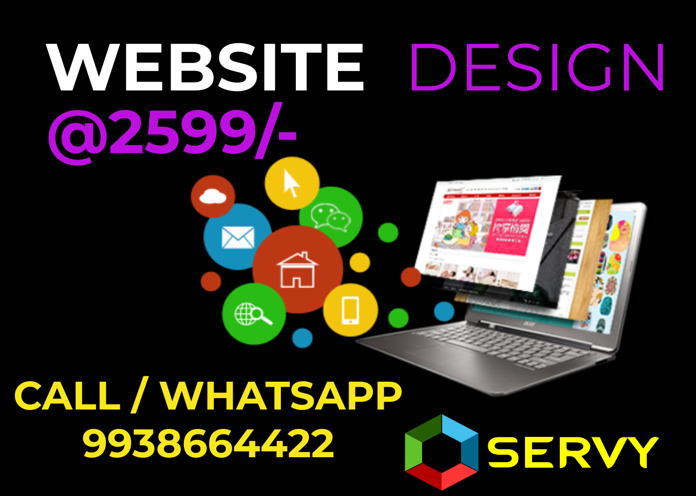 Creative Web Design & development Company in Bhubaneswar