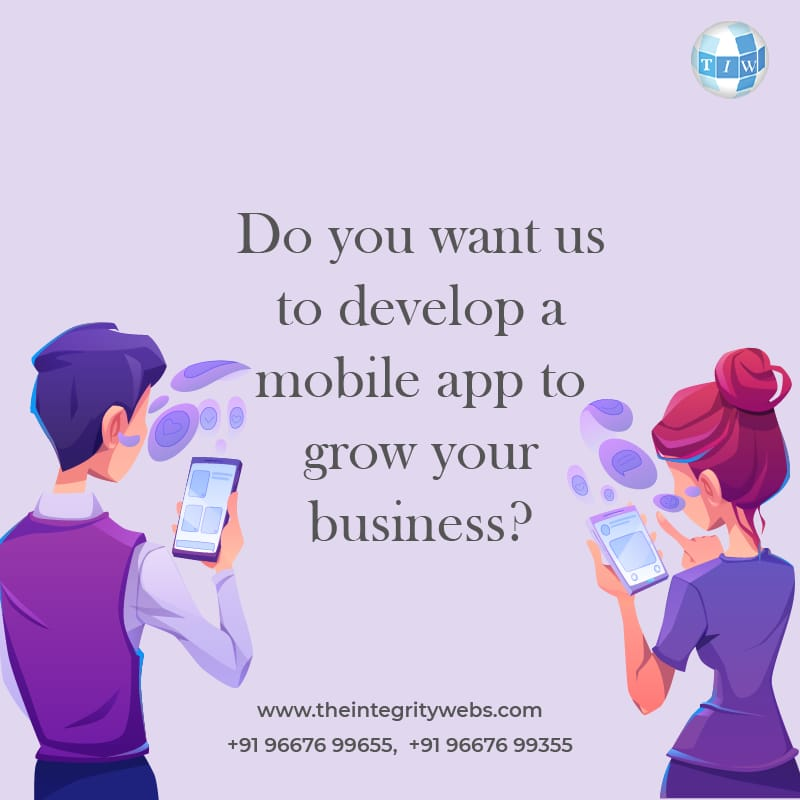THE INTEGRITY WEBS | APP DEVELOPMENT COMPANY IN GHAZIABAD