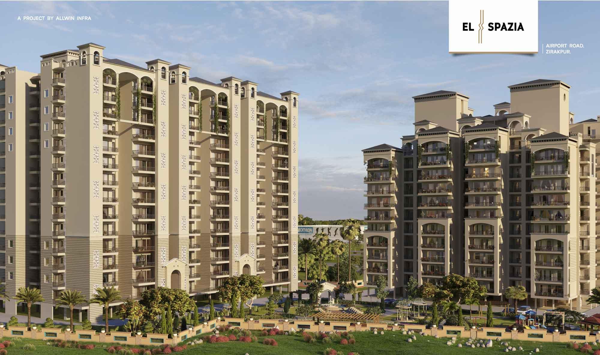 3 bhk flats for sale in zirakpur