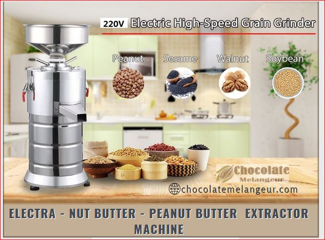 Buy Peanut Butter Machine – Nut Butter Machine @ Chocolatemelangeur