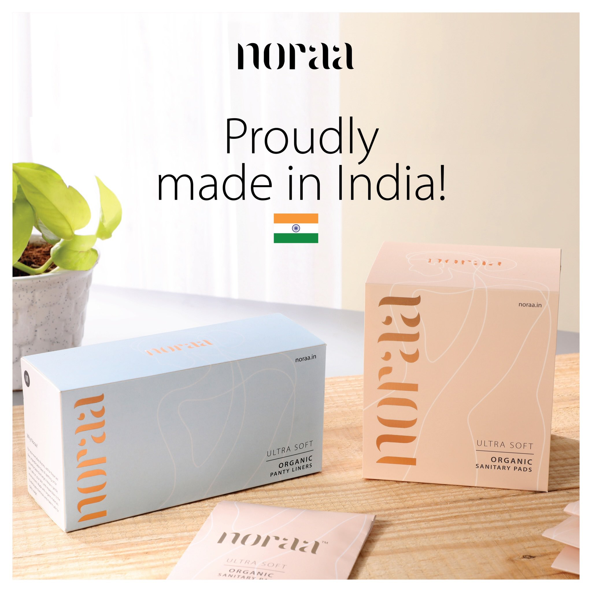 Noraa: Made in India Feminine Hygiene Products