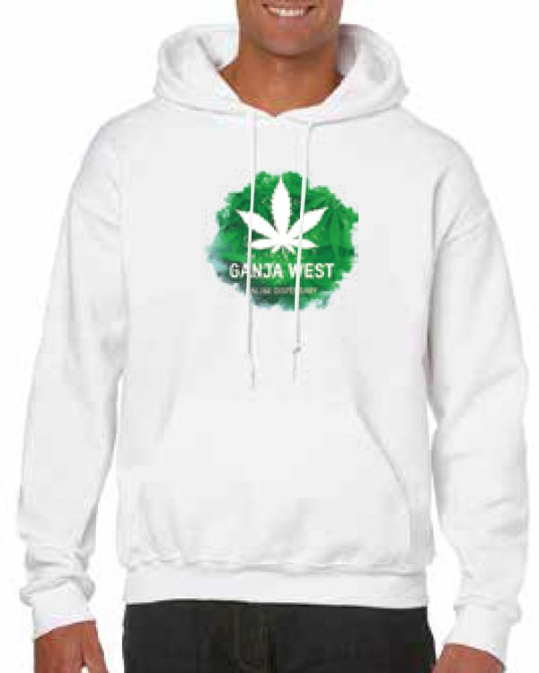 Ganjawest – Hoodies – Logo (Includes Free 3.5g)