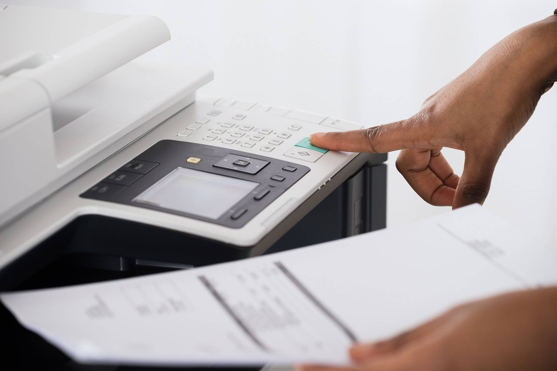 Why is HP printer printing blank pages?