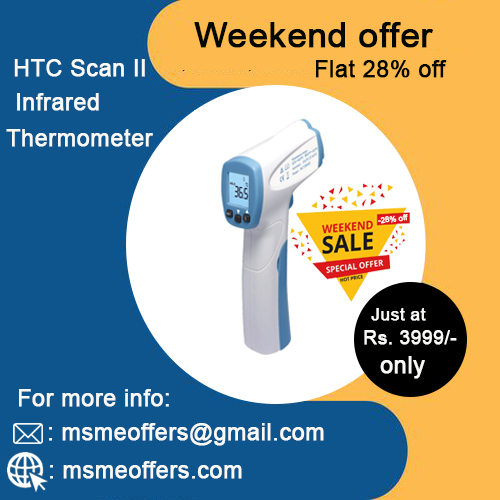 HTC Scan II Infrared Thermometer