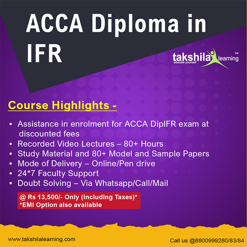 Diploma in IFRS (ACCA) | Course Details, Video Lectures