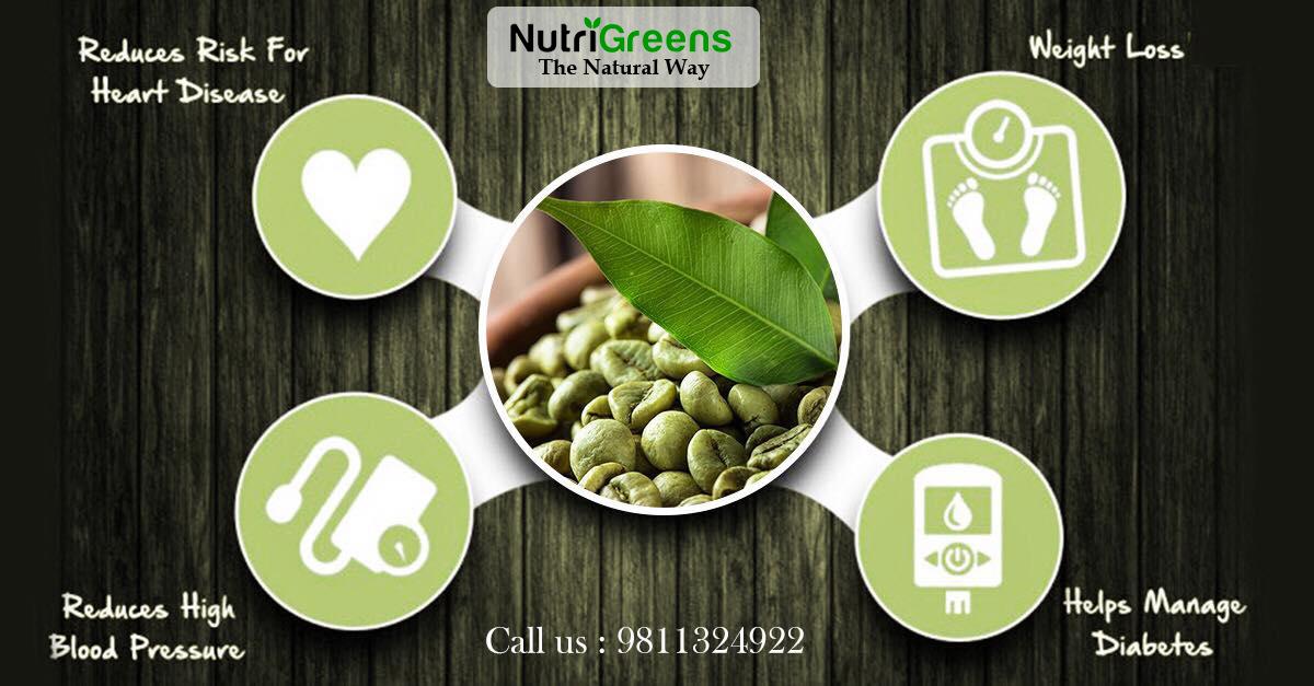 Buy Best Organic Green Coffee Online | NutriGreens