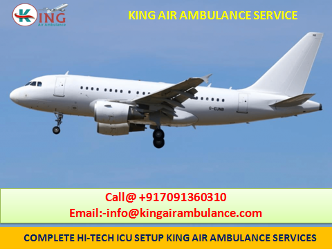 Minimum Cost Emergency Air Ambulance in Guwahati by King Ambulance