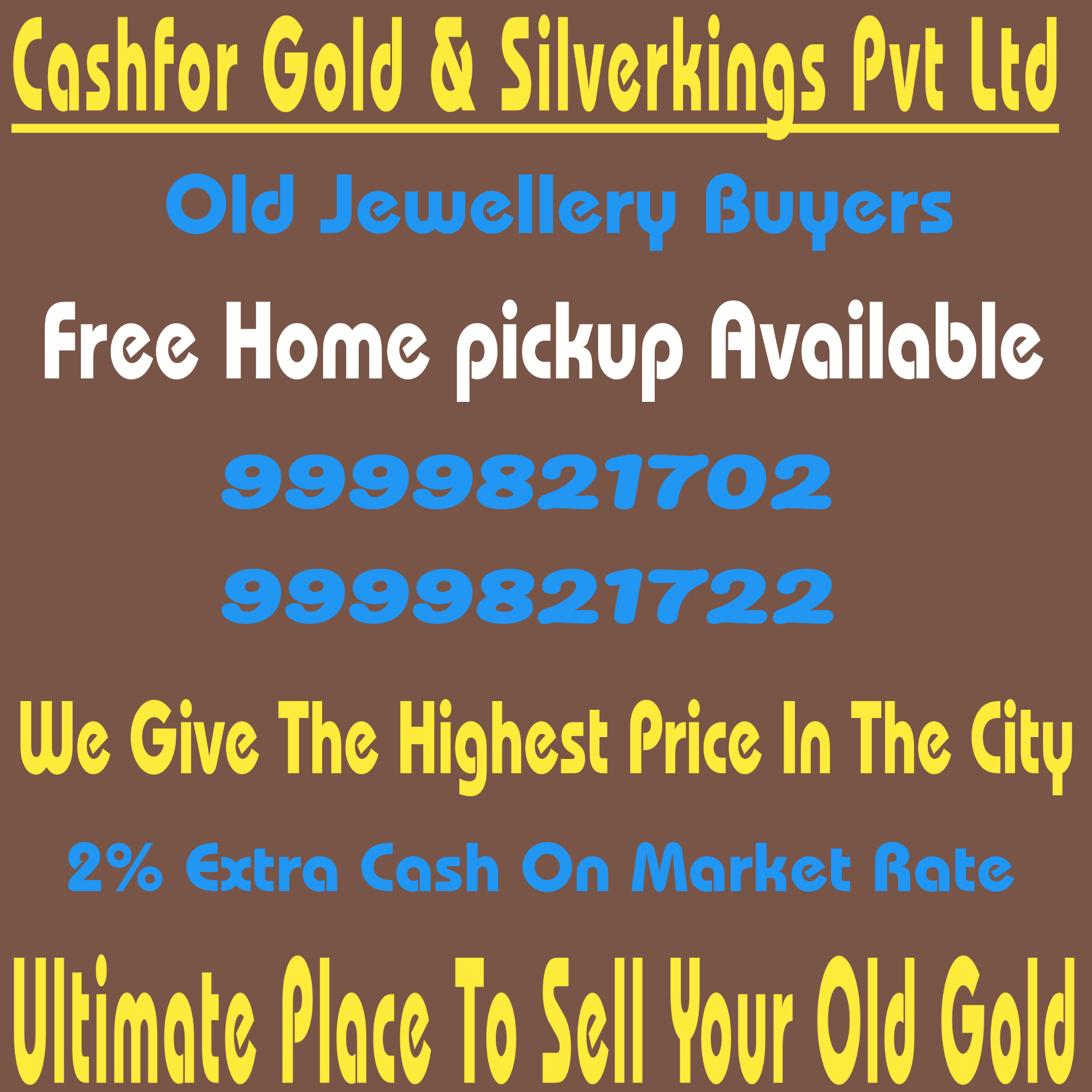Buy silver for cash
