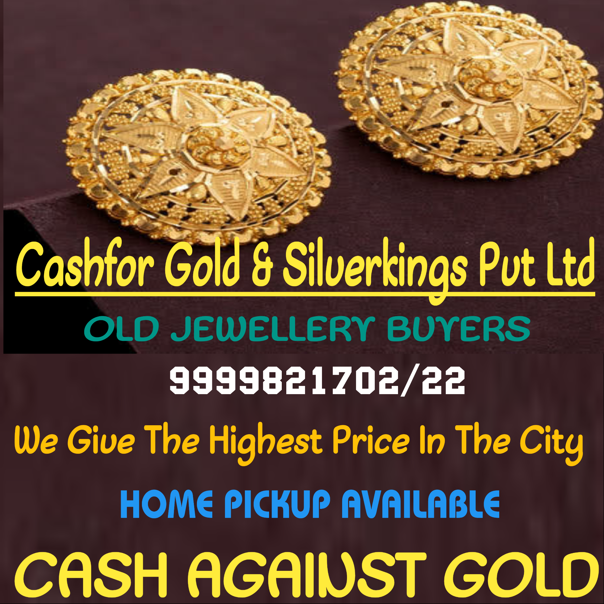 Sell Gold For Cash In Govind Puri