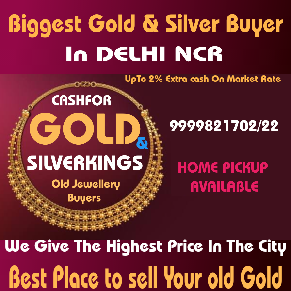 Sell Gold In Delhi NCR