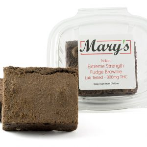 Mary's Medibles Fudge Brownie Extreme Strength 300mg Indica