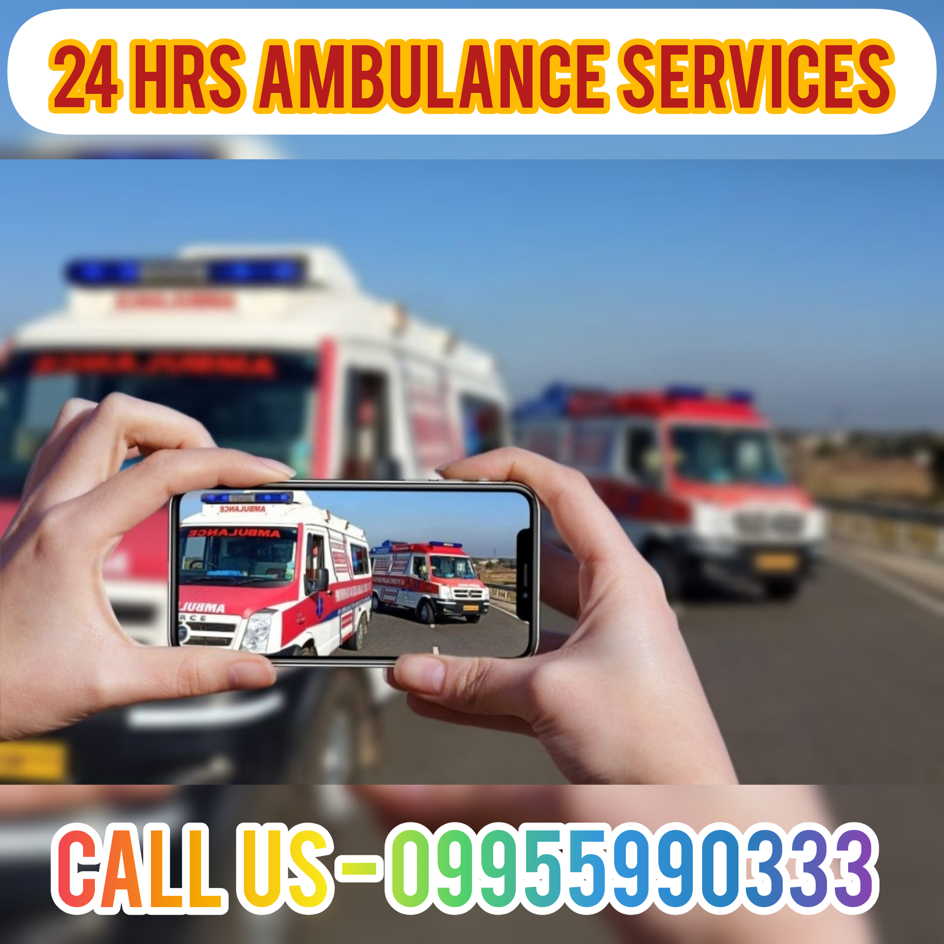 24 Hrs Emergency Medical Cares in Ambulance Service in Manipur