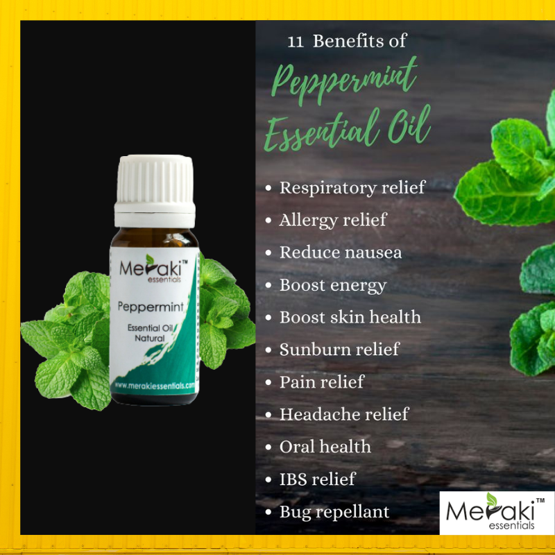 Buy 100% Pure & Natural Peppermint Essential Oil