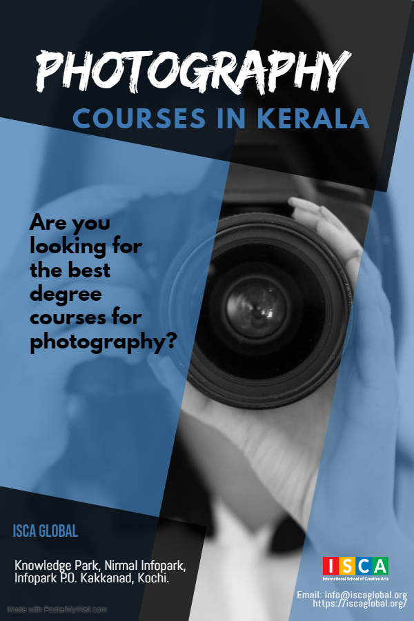 Best Photography Courses in Kerala