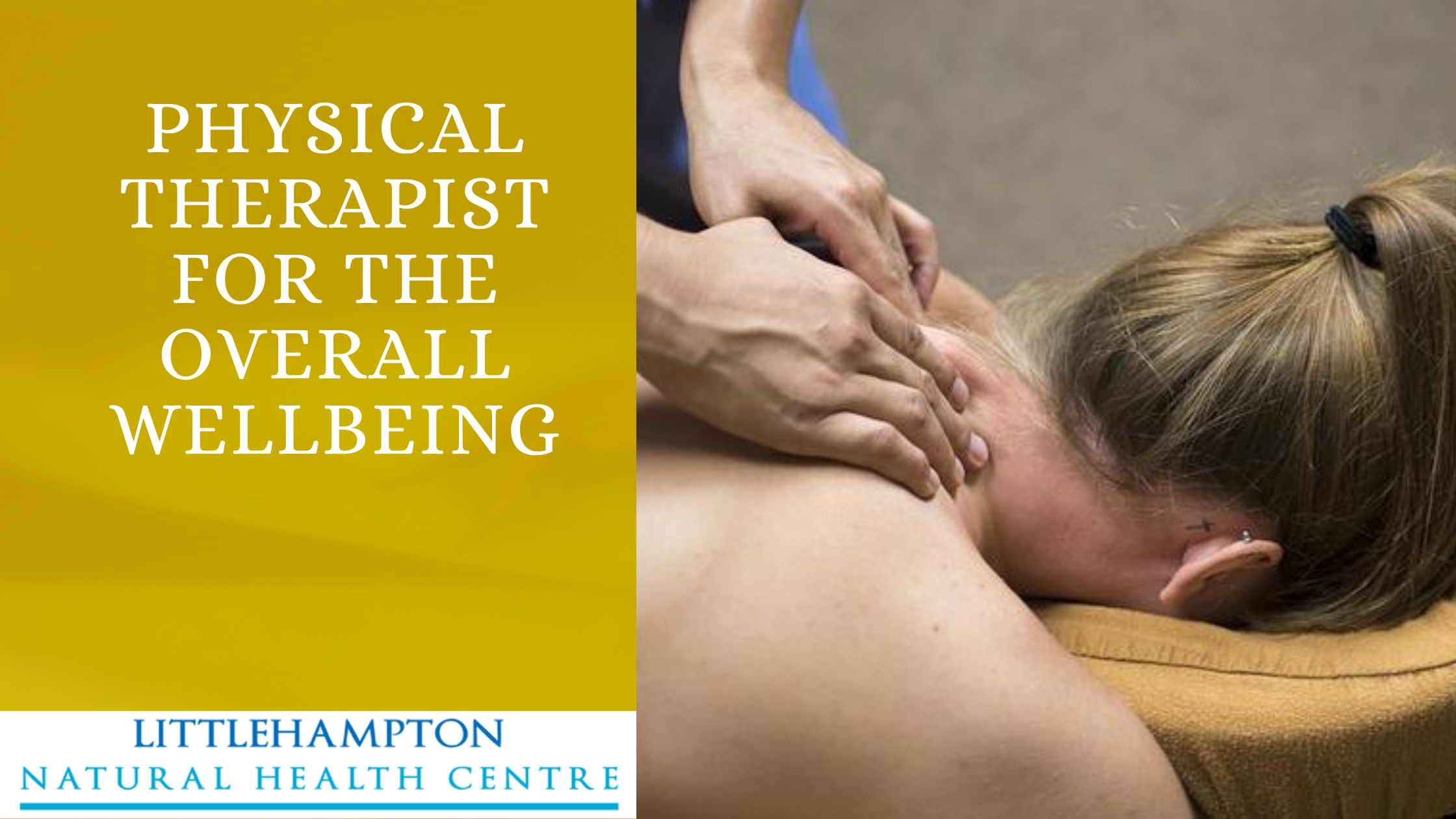 A physical therapist for the overall wellbeing