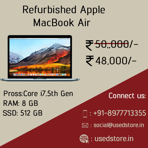 Refurbished Apple Macbook