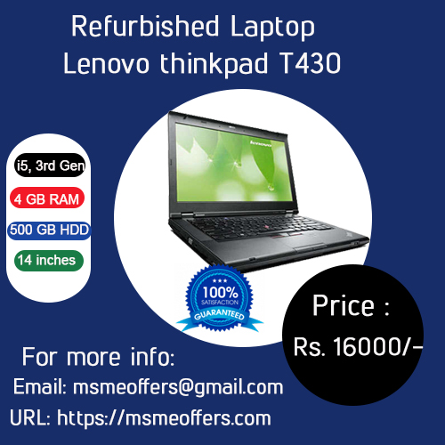 Refurbished Laptop Lenovo thinkpad T430 Laptop