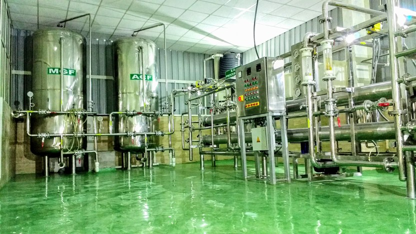 Setup Mineral Water Plant company in India by Hyperfilteration