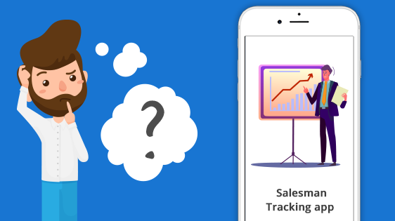 How much does it cost to develop a Salesman tracking app?
