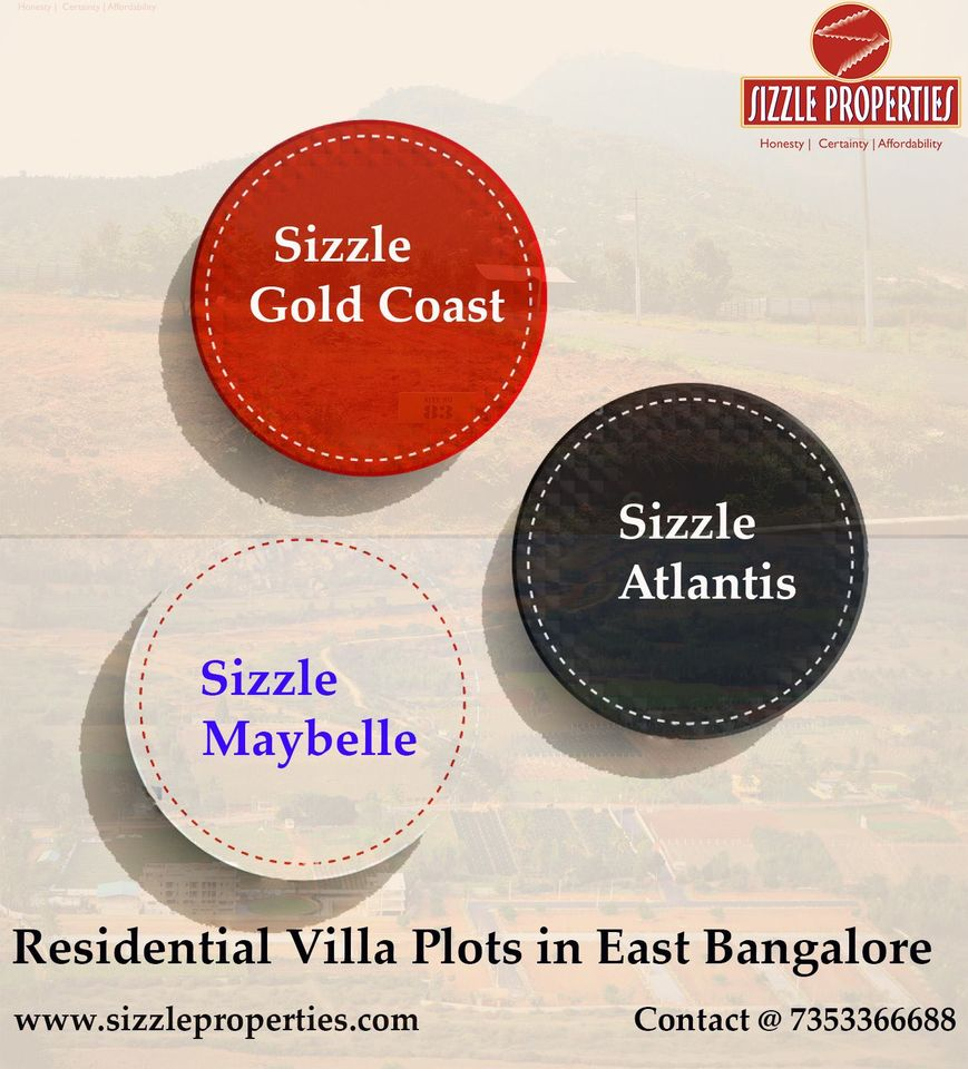Residential plots for sale in Bangalore