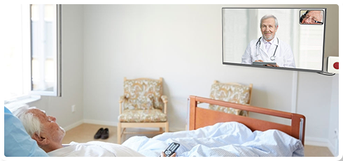 Sirona.tv – Telehealth for geriatric care patients on their TV