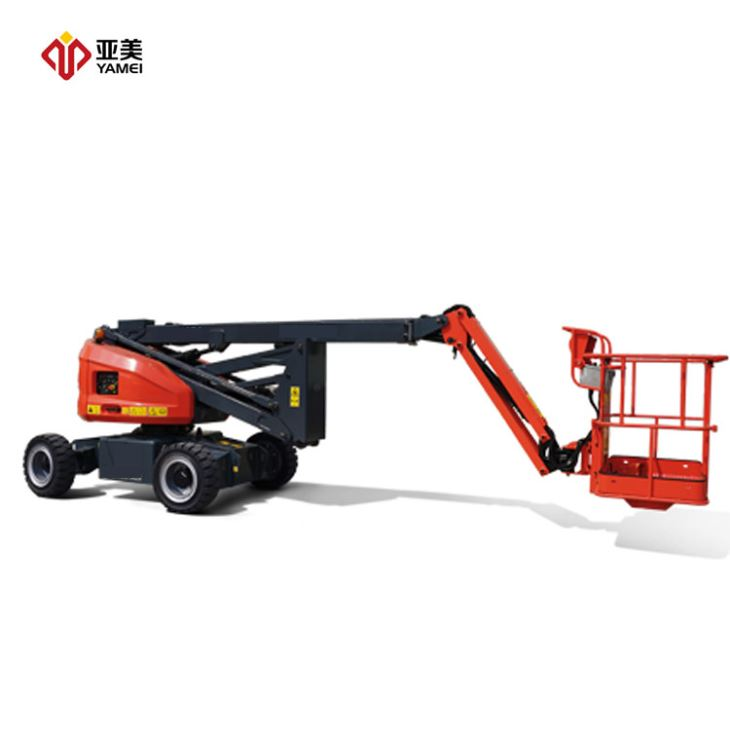 Small Electric Boom Lift24