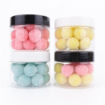 Wholesale Private Label Exfoliating Ball-Shaped Sugar Face Scrub Olive Oil Cane Body Scrub22