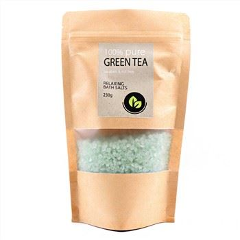 New Products 100% Pure Paraben Mit Free Relaxing Cleansing Moisturizing Green Tea Bath Salt79