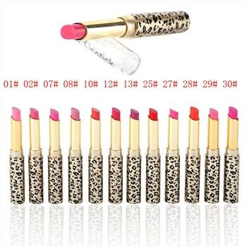 Custom Your Own Logo 12colors Attractive High Pigmented Waterproof Leopard Lipstick41