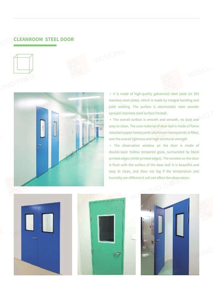 Clean Room Door And Window26