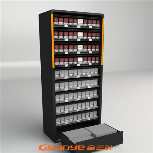 Door Type Led Pop Tobacco Display72