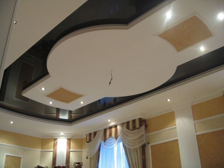 Heat Glossy Stretched Ceiling Film8