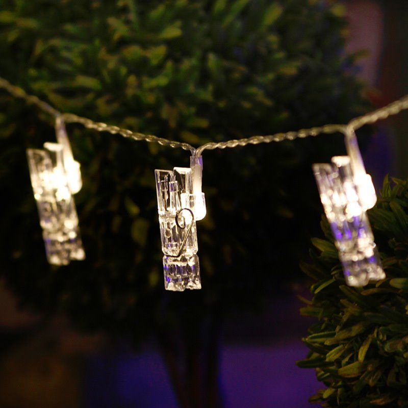 LED String Lights With 16 Photo Clips94