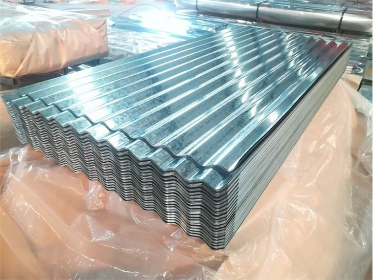 Regular Spangle Galvanized Corrugated Sheet67