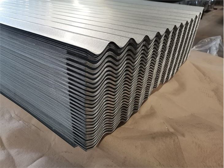Anti-Finger Galvalume Corrugated Sheet9