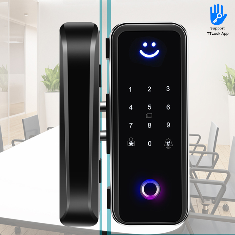 TTLock App Fingerprint Glass Door Smart Lock41