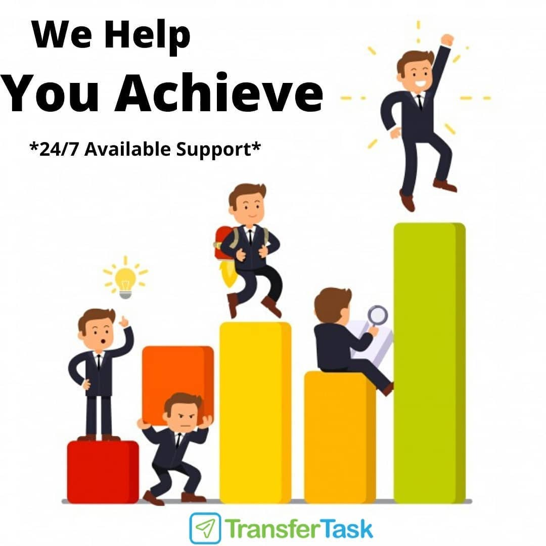 Hire a virtual assistant - Transfer Task