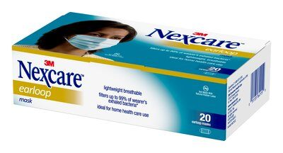 Nexcare Earloop Medical Face Mask Supplier in USA