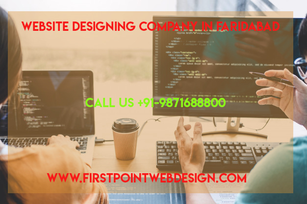 website designing company in Faridabad